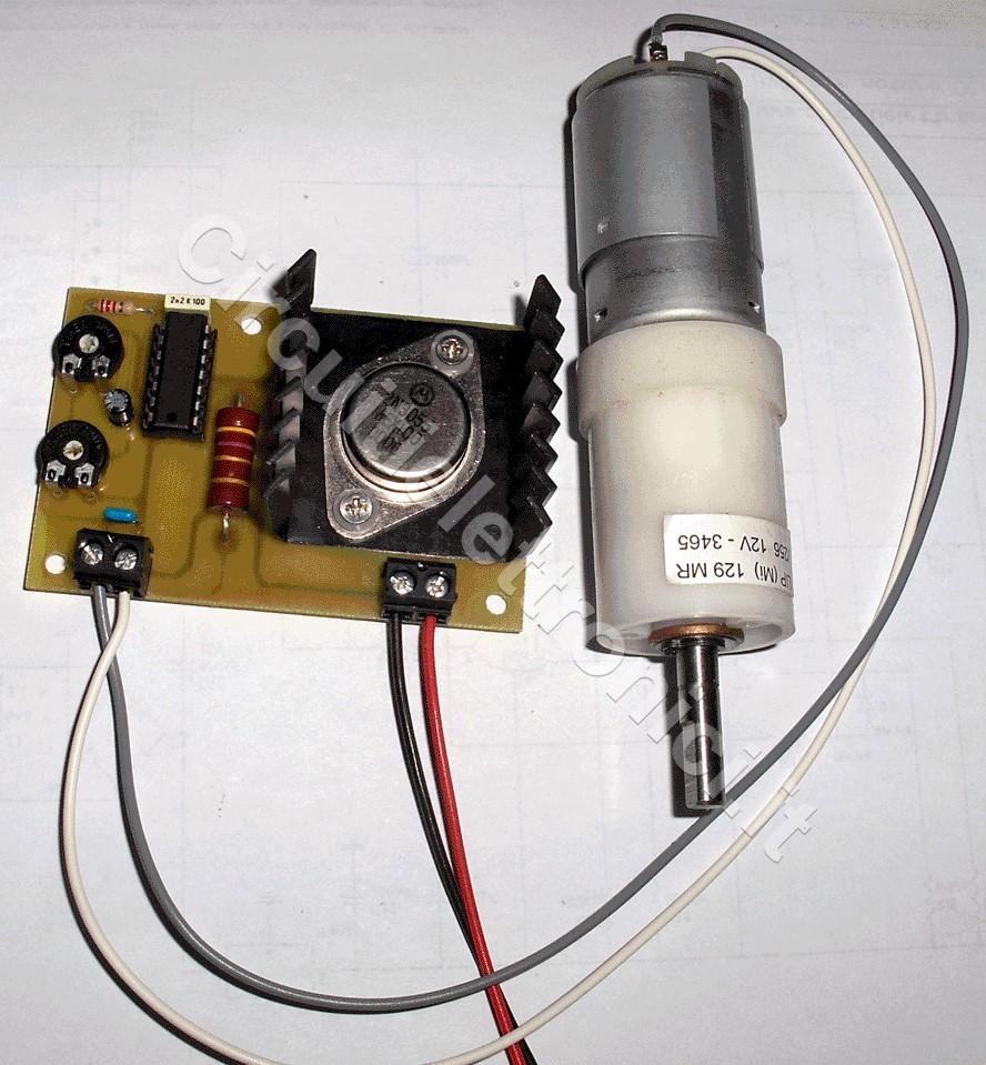 Schema Elettrico Per Wilayah : Regolatore di velocità precisione circuitielettronici