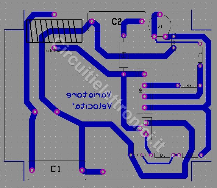 Schema Elettrico Piastra Induzione : Variatore di velocita per ventole con motore ad induzione
