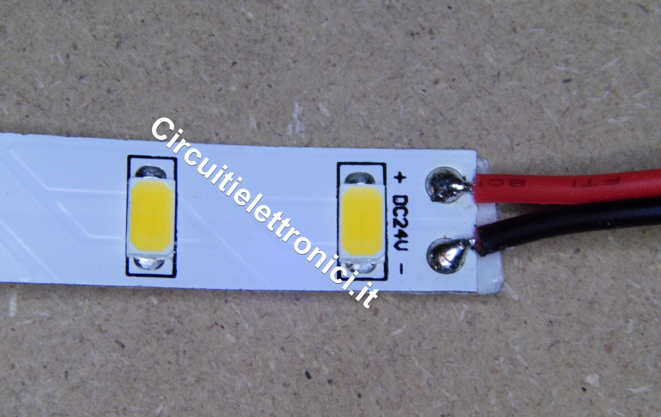 Strip Led Piu Luminosi gestione led in striscia | circuitielettronici